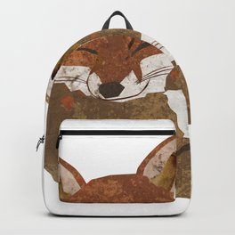 Shelter (Stacked Foxes) Backpack