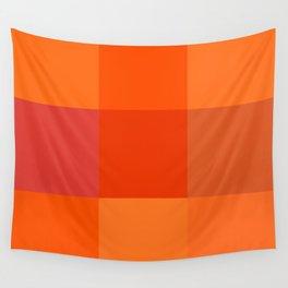 Orange palette Wall Tapestry