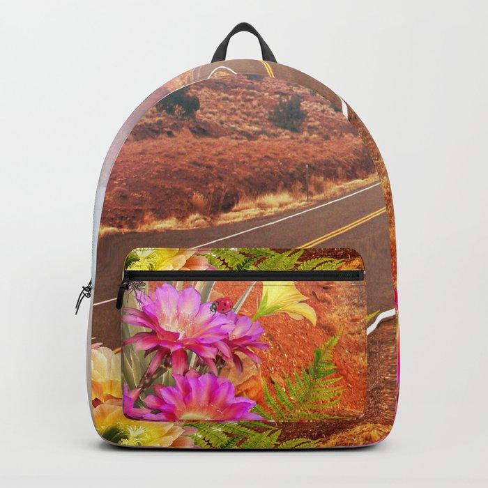 Desert road Backpack