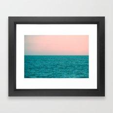 #Turquoise #Sea Framed Art Print