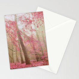 atmospheric autumn Stationery Cards