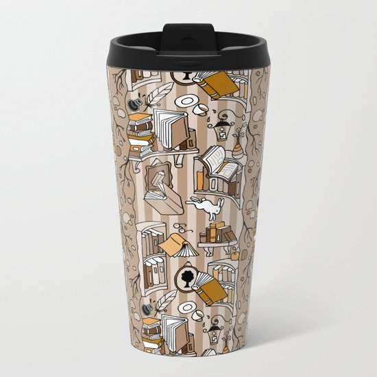 Books: Through the rabbit hole_Moka Metal Travel Mug