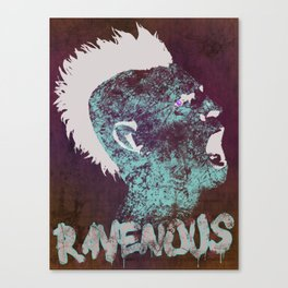 Ravenous Canvas Print