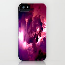 Embrace the Storm iPhone Case
