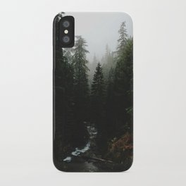 Rainier Creek iPhone Case