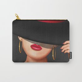 The Lady from the racecourse Carry-All Pouch