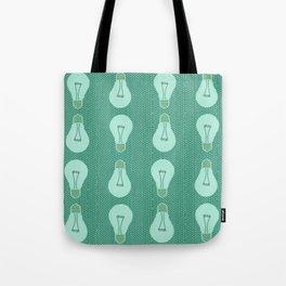 Green light pattern  Tote Bag