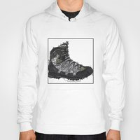 shoe Hoodies featuring Shoe 1 by AstridJN
