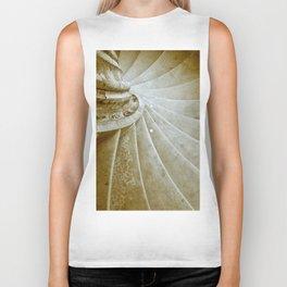 Sand stone spiral staircase 17 Biker Tank