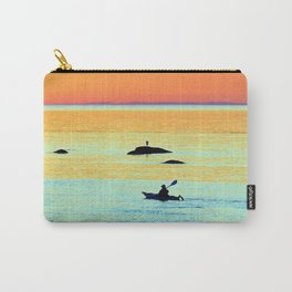 Silhouettes in Colors Carry-All Pouch