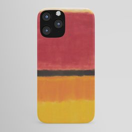 1949 Untitled (Violet, Black, Orange, Yellow on White and Red) by Mark Rothko iPhone Case