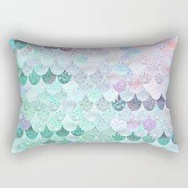 SUMMER MERMAID - CORAL MINT Rectangular Pillow