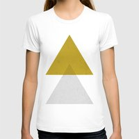 triangles T-shirts featuring Triangles by Nan Lawson