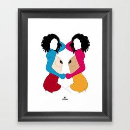 VANITY - CENSURED Framed Art Print