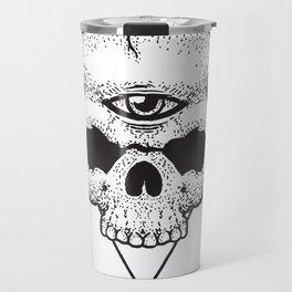 Third Eye Of The Skull Travel Mug