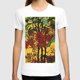 """WheelFlower"" Woodcut by Margaret Preston T-shirt"