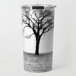 Flooded on White Travel Mug