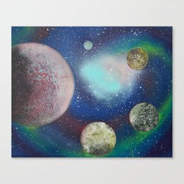 Proxima Zaria System Canvas Print