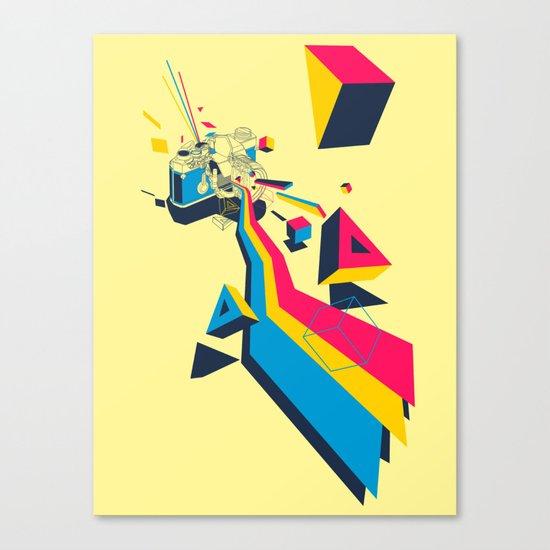 lenspectrum Canvas Print