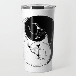 The Tao of Fox Travel Mug