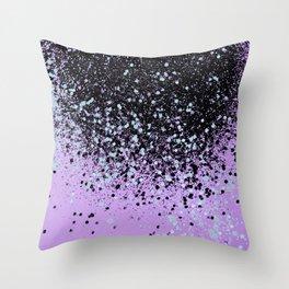Mermaid Summer Vibes Glitter #2 #shiny #decor #art #society6 Throw Pillow