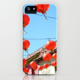 Raise the Red Lantern iPhone Case