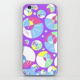Bubble Purple iPhone Skin