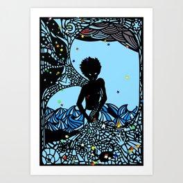 The Star Fisherman Art Print