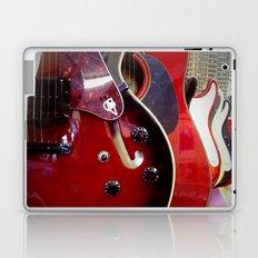 Red Guitars Laptop & iPad Skin
