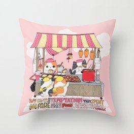 Their Ambrosia Throw Pillow