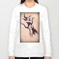 mother Long Sleeve T-shirts featuring Mother by Gerard Marinaccio