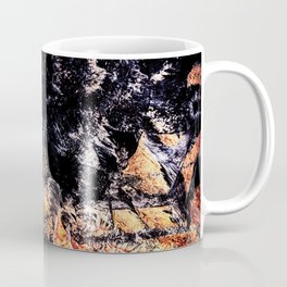 Flame kaleidoscope Coffee Mug