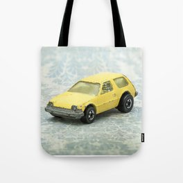 Yellow Hot Wheels Packin' Pacer 1977 Tote Bag