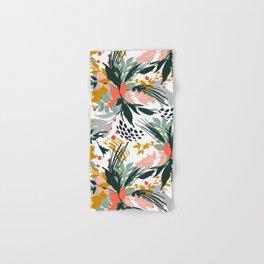 Botanical brush strokes I Hand & Bath Towel
