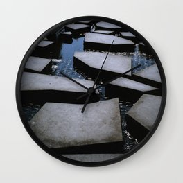 Shape of Water - The Road Wall Clock