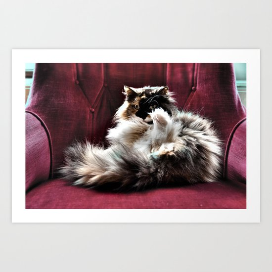 Don't be so serious  Art Print