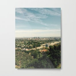 View from the Getty Metal Print