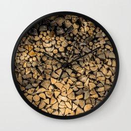 Need Wood? Wall Clock