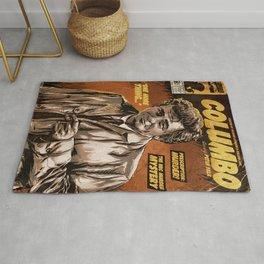Columbo - TV Show Comic Poster Rug
