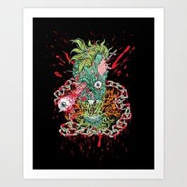 Dead Chains Art Print