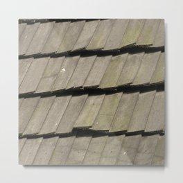 Texture #16 Roof tiles. Metal Print