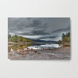 Beautiful landscape Argyll in Scotland Metal Print
