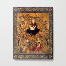 Besozzo's Madonna Of The Rose Garden Metal Print