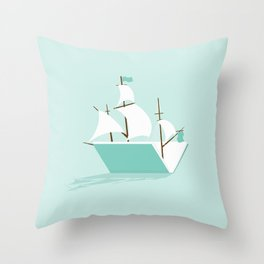 Sea of Knowledge Throw Pillow