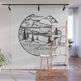 Little islands Wall Mural
