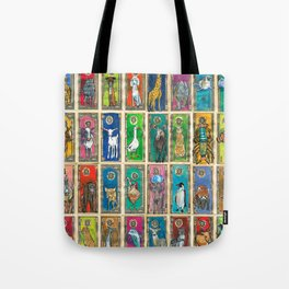 Money Animals Tote Bag