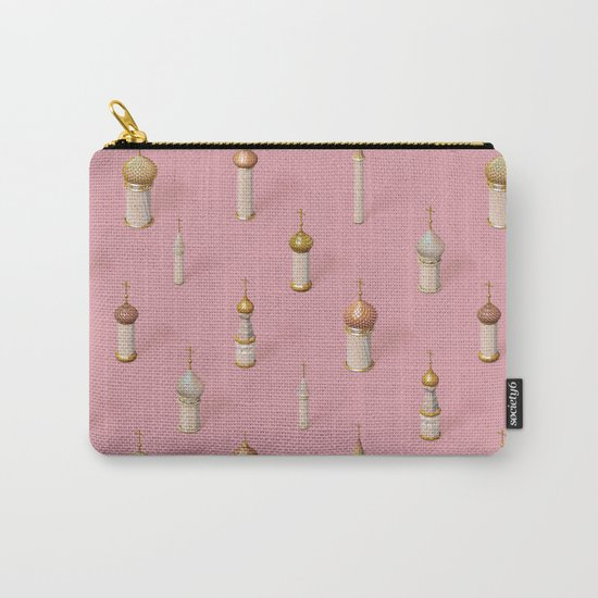 Dome Pink Carry-All Pouch