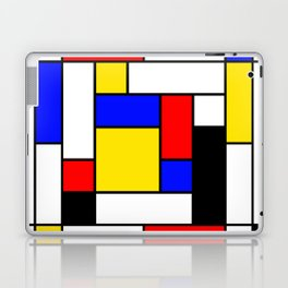 Mondrian Geometric Art 2 Laptop & iPad Skin