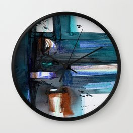 A Dream Creation No. 2f by Kathy Morton Stanion Wall Clock