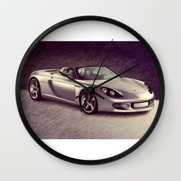Supercar Wall Clock